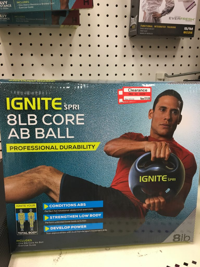 Ignite fitness ab Ball, target clearance, fitness, home fitness