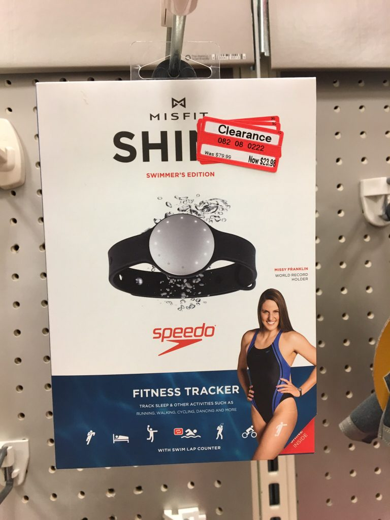Target clearance, Speedo shine fitness watch