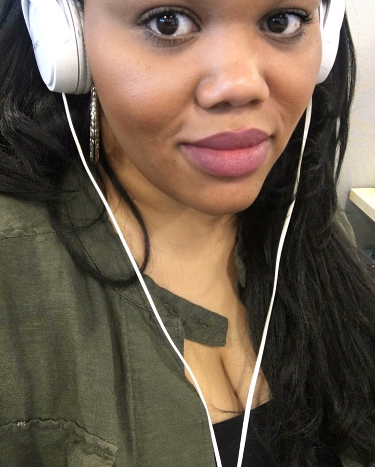 Buxom cosmetics Brooklyn lipstick neutral African American black