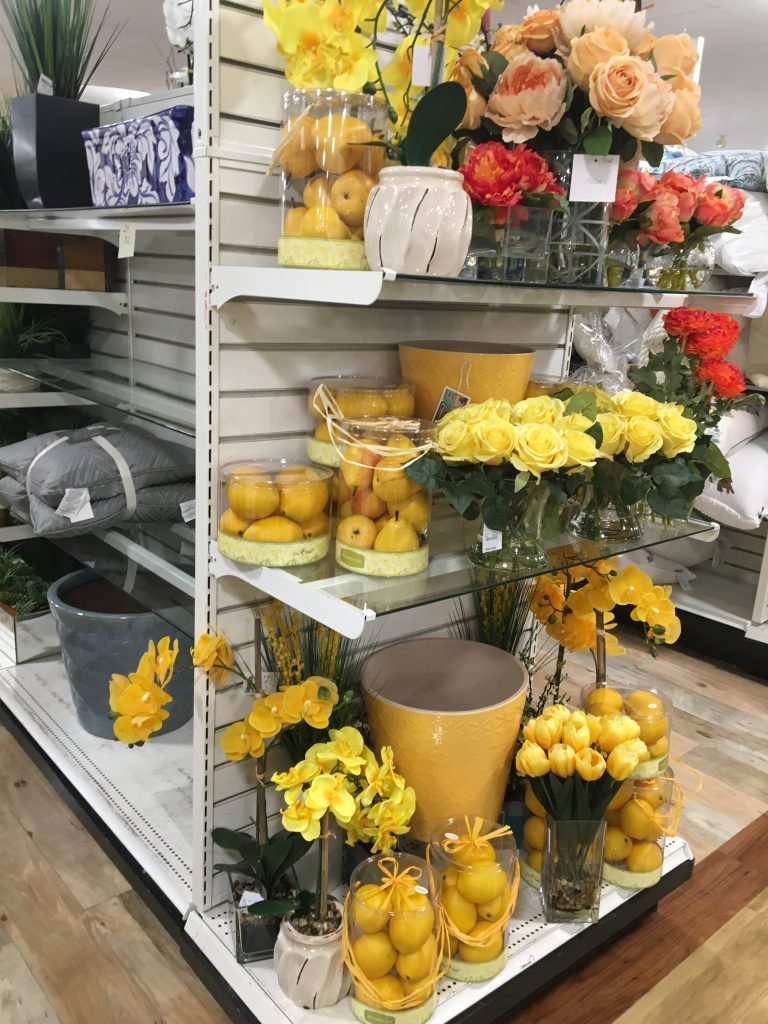 Flowers, Marshall's, spring, bloom, wedding, bedroom, yellow, lemons, lemonade